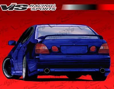 VIS Racing - Lexus GS VIS Racing Wize Rear Lip - 98LXGS34DWIZ-012
