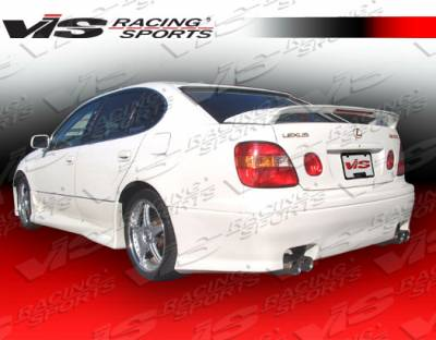 VIS Racing - Lexus GS VIS Racing Z1 boxer Rear Bumper - 98LXGS34DZ1-002