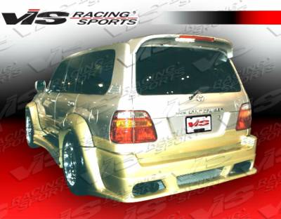 VIS Racing. - Lexus LX VIS Racing Outcast Rear Bumper - 98LXLX44DOC-002