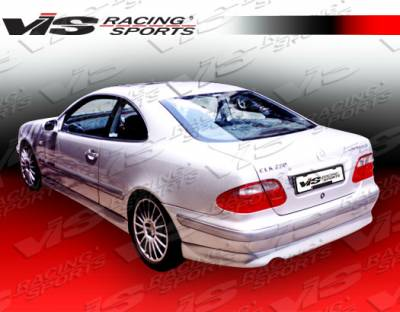 VIS Racing - Mercedes-Benz CLK VIS Racing C Tech Rear Lip - 98MEW2082DCTH-012