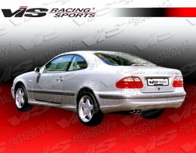 VIS Racing - Mercedes-Benz CLK VIS Racing Euro Tech Rear Bumper - 98MEW2082DET-002