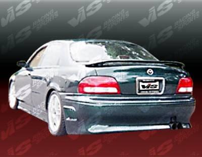 VIS Racing - Mazda 626 VIS Racing Invader Rear Bumper - 98MZ6264DINV-002