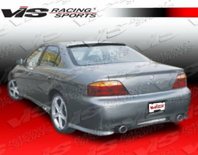 VIS Racing - Acura TL VIS Racing Z1 boxer Rear Bumper - 99ACTL4DZ1-002