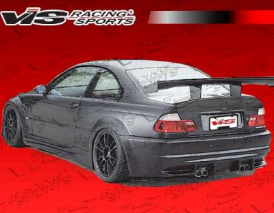 VIS Racing. - BMW 3 Series 2DR VIS Racing DTM Widebody Rear Bumper - 99BME462DDTMWB-002