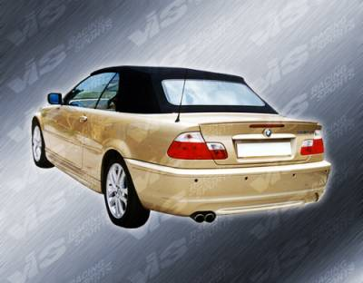 VIS Racing - BMW 3 Series 2DR VIS Racing M Tech Rear Bumper - 99BME462DMTH-002