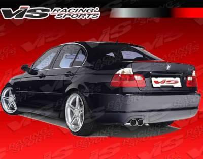 VIS Racing - BMW 3 Series VIS Racing Racing Design Rear Bumper - 99BME462DRDN-002