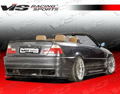 VIS Racing - BMW 3 Series VIS Racing R Tech Rear Bumper - 99BME462DRTH-002