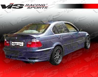 VIS Racing - BMW 3 Series 4DR VIS Racing Euro Tech Rear Lip - 99BME464DET-012