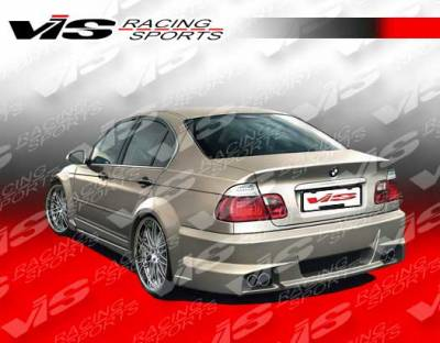 VIS Racing - BMW 3 Series 4DR VIS Racing Immense Widebody Rear Bumper - 99BME464DIMMWB-002