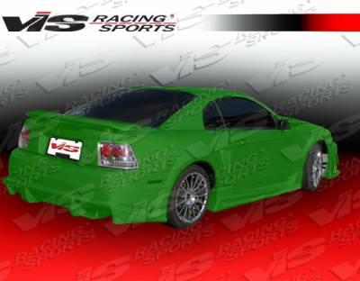 VIS Racing - Ford Mustang VIS Racing Ballistix Rear Bumper - 99FDMUS2DBX-002