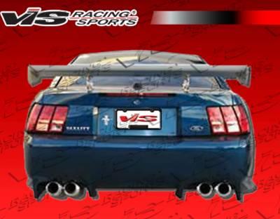 VIS Racing - Ford Mustang VIS Racing Invader Rear Bumper - 99FDMUS2DINV-002