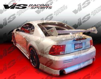 VIS Racing - Ford Mustang VIS Racing V Speed Rear Bumper - 99FDMUS2DVSP-002