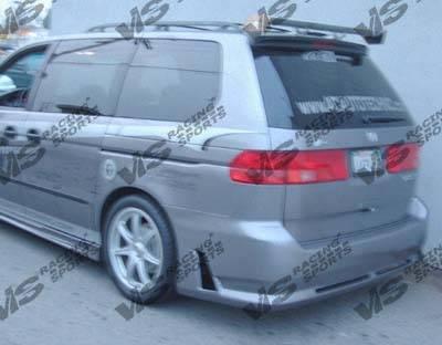 VIS Racing - Honda Odyssey VIS Racing Octane Rear Bumper - 99HDODY4DOCT-002