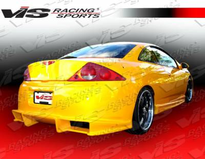 VIS Racing - Mercury Cougar VIS Racing Ballistix Rear Bumper - 99MYCOU2DBX-002