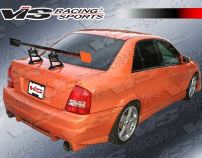 VIS Racing - Mazda Protege VIS Racing Evo 2 Rear Bumper - 99MZ3234DEVO2-002