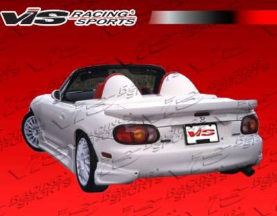 VIS Racing - Mazda Miata VIS Racing Ballistix Rear Lip - 99MZMX52DBX-012