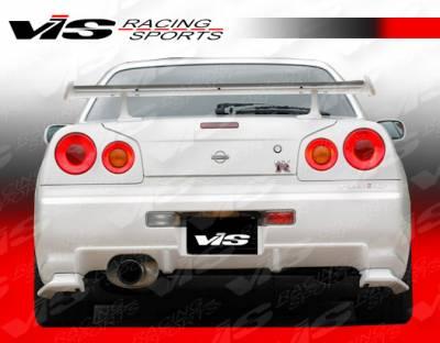 VIS Racing - Nissan Skyline VIS Racing V Spec Rear Bumper - 99NSR34GTRVSC-002