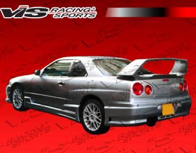 VIS Racing - Nissan Skyline VIS Racing Tracer GT Rear Bumper - 99NSR34GTSTGT-002