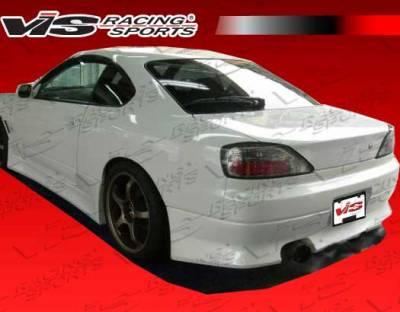 VIS Racing - Nissan S15 VIS Racing G-Speed Rear Bumper - 99NSS152DGSP-002