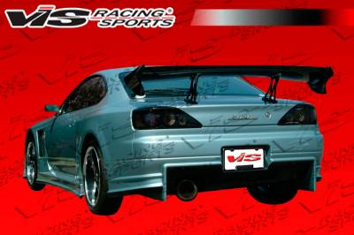 VIS Racing - Nissan S15 VIS Racing Invader GT Rear Bumper - 99NSS152DINVGT-002