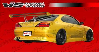VIS Racing - Nissan Silvia VIS Racing V Spec-4 Rear Bumper - 99NSS152DVSC4-002