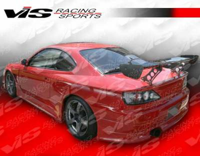 VIS Racing. - Nissan Silvia VIS Racing V Speed Widebody Rear Bumper - 99NSS152DVSPWB-002
