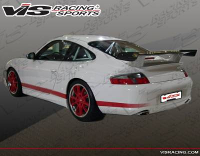 VIS Racing - Porsche 911 VIS Racing D3 KS Rear Bumper - 99PS9962DD3KS-002