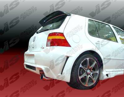 VIS Racing - Volkswagen Golf VIS Racing G-55 Rear Bumper - 99VWGOF2DG55-002