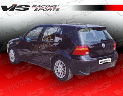 VIS Racing - Volkswagen Golf VIS Racing Otto Rear Lip - 99VWGOF2DOTT-012