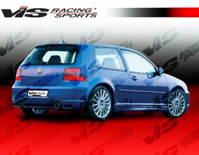 VIS Racing - Volkswagen Golf VIS Racing R-32 Rear Bumper - 99VWGOF2DR32-002