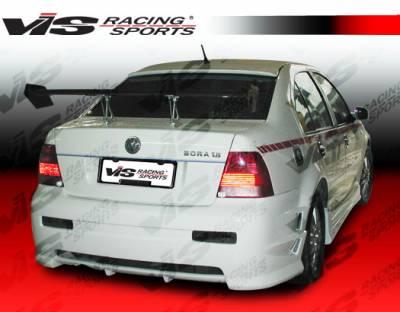 VIS Racing - Volkswagen Jetta VIS Racing Blaze Rear Bumper - 99VWJET4DBD-002