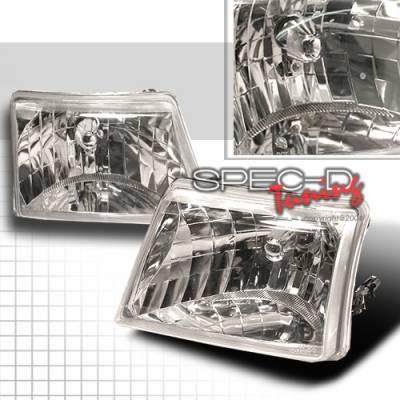 Custom Disco - Ford Ranger Custom Disco Chrome Headlights - LH-RAN98-KS