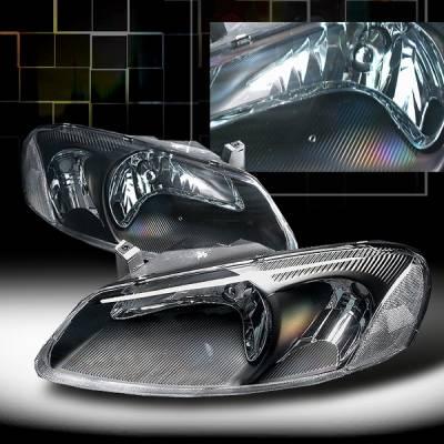 Custom Disco - Chrysler Sebring Custom Disco Black Headlights - LH-SEB01JM-KS