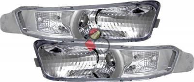 Custom - Chrome Clear Turn Signal Light