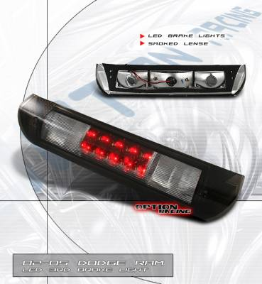 Custom - Euro Smoked Lense LED Third Brake Light