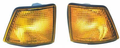 Custom - Yellow amber turn signal Lights