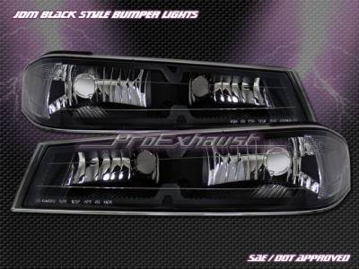Custom - Black Bumper Lights