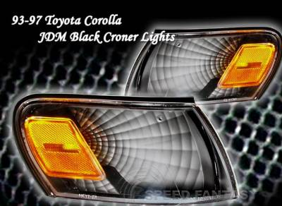 Custom - JDM Black Corner Lights