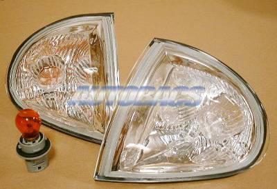 Custom - JDM  Euro Crystal Corner Lights