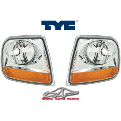 Custom - Euro Chrome Clear Corner Lights