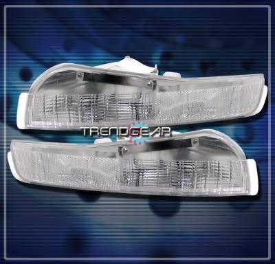 Custom - Chrome Front Bumper Lights