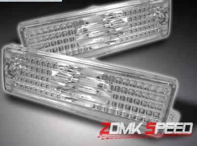 Custom - Euro Rear Side Marker Bumper Lights