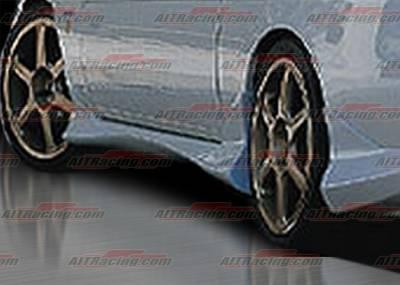 AIT Racing - Lexus SC AIT Racing Delux Style Side Skirts - LSC92HIDLSSS
