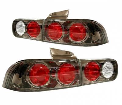 4 Car Option - Acura Integra 4DR 4 Car Option Altezza Taillights - Gunmetal - LT-AI944G-YD
