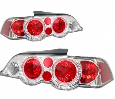 4 Car Option - Acura RSX 4 Car Option Altezza Taillights - Chrome - LT-AR02A-KS