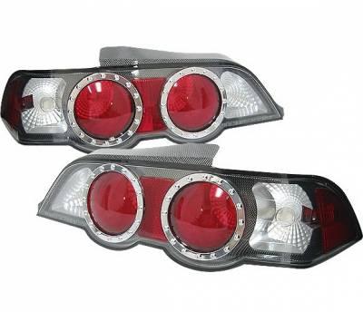 4 Car Option - Acura RSX 4 Car Option Altezza Taillights - Carbon Fiber Style - LT-AR02CF-9