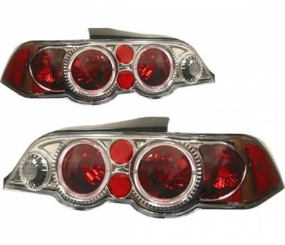 4 Car Option - Acura RSX 4 Car Option Altezza Taillights - Gunmetal - LT-AR02G-KS