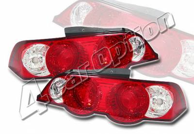 4 Car Option - Acura RSX 4 Car Option Altezza Taillights - Jag Type - LT-AR02J-YD