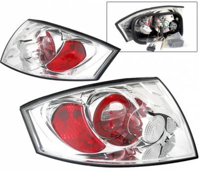 4 Car Option - Audi TT 4 Car Option Altezza Taillights - Chrome - LT-ATT99A-YD
