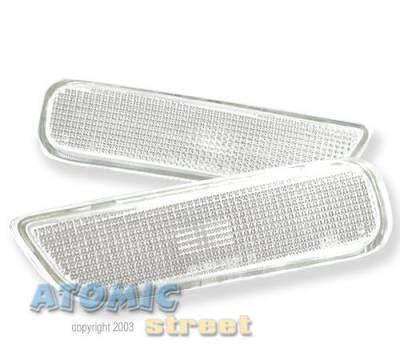 Custom - Clear Side Marker Bumper Lights